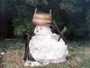 Птенчик, в которого за несколько часов превращается снежная баба