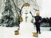 Снеговик из прошлого века