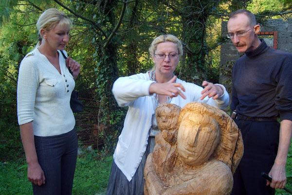 Деревянная скульптура: мастер-класс Евгении Кудриной