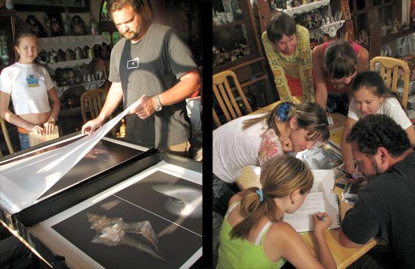 Мастер-класс по художественной фотографии фотохудожника из Калифорнии Райяна Дзюрича